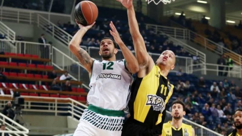 Παναθηναϊκός, ΑΕΚ, Basketleague