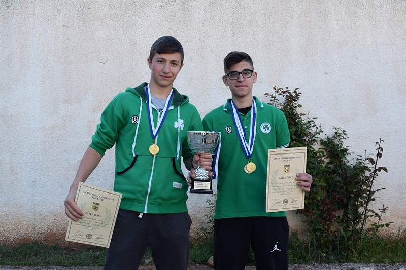 Πρωταθλητής Ελλάδος Εφήβων στο Πιστόλι ο Παναθηναϊκός! (Pics)